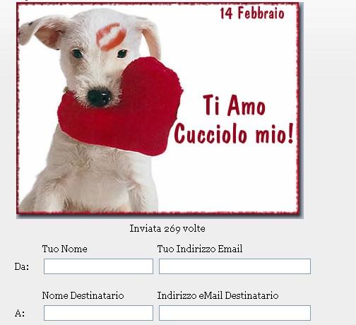 spesso San Valentino: Immagini, video e cartoline virtuali free  KY89