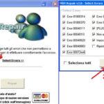 Windows Live Messenger non si avvia, che fare?