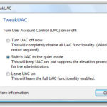 TweakUAC per Windows Vista