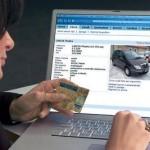 Truffe online auto usate, no grazie