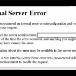 Wordpress INTERNAL SERVER ERROR dopo update, risolviamo.