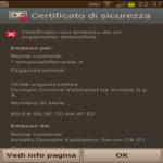 Soluzione Errore: Certificato non emesso da un organismo attendibile