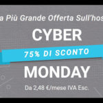 Cyber Monday, Hosting Wordpress Scontati Fino al 75% su Siteground