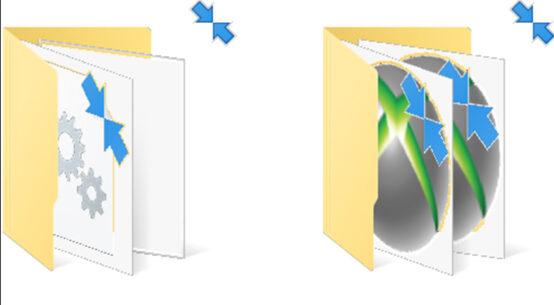 rimuovere-frecce-blu-windows